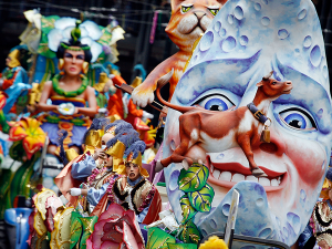 Visitors will Never Forget Mardi Gras, New Orleans Style