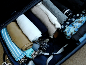 The top tips for packing luggage lightly