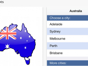 Revealed: The best app for travelling Down Under