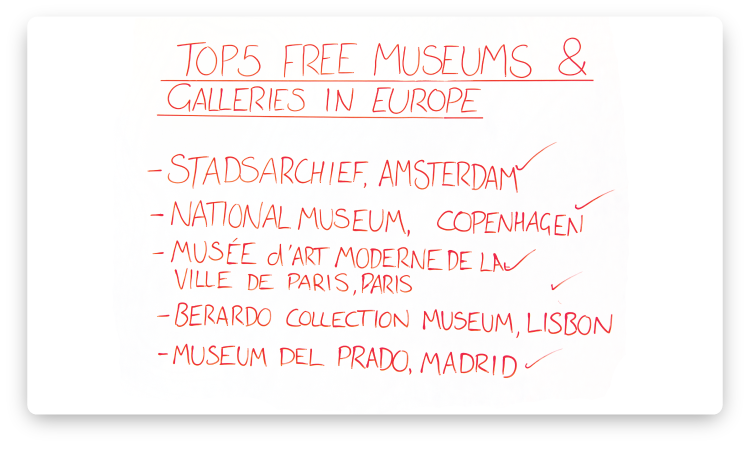 galleries-in-europe