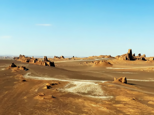 The Lut Desert, Iran