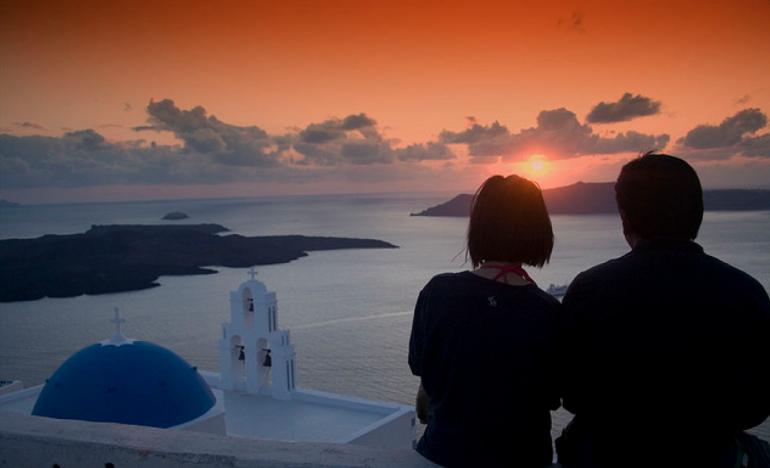 Santorini romantic