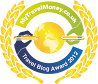Finalist - MyTravelMoney.co.uk's Travel Blog Awards 2012