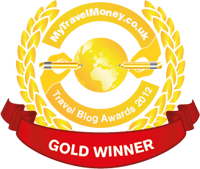 Gold Winner - MyTravelMoney.co.uk's Travel Blog Awards 2012