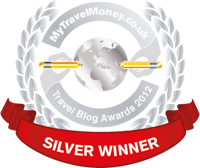 Silver Winner - MyTravelMoney.co.uk's Travel Blog Awards 2012