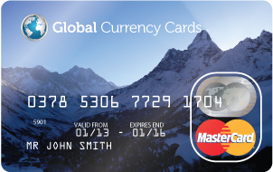 Prepaid Global Currency Cards