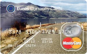 Compare Prepaid Euro Travel Money Cards